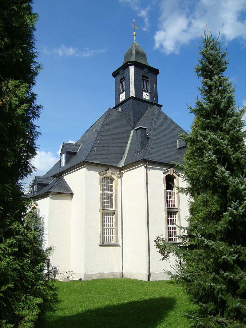 Bild George Bähr Kirche Forchheim