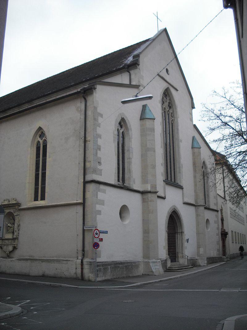 Bild Franziskanerkirche Würzburg