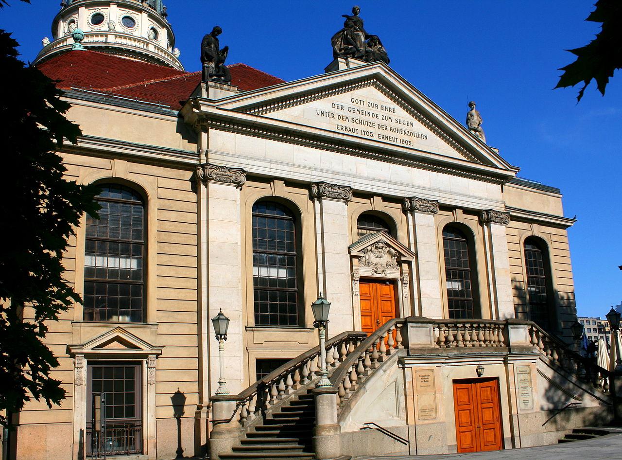 Bild Französische Friedrichstadtkirche Berlin