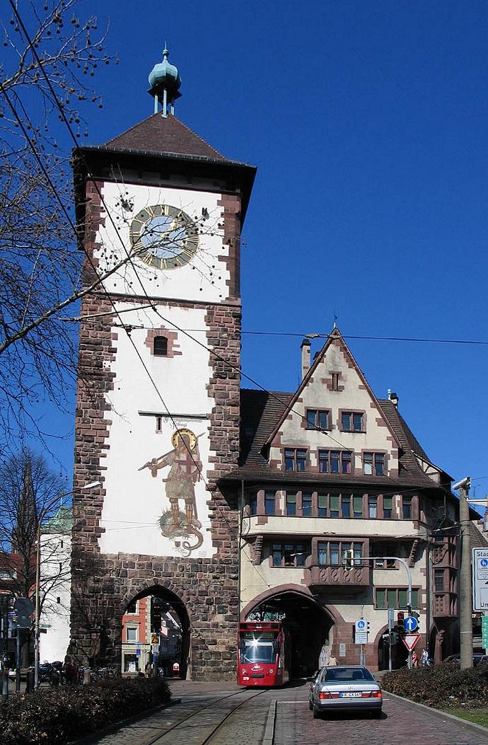 Bild Schwabentor Freiburg