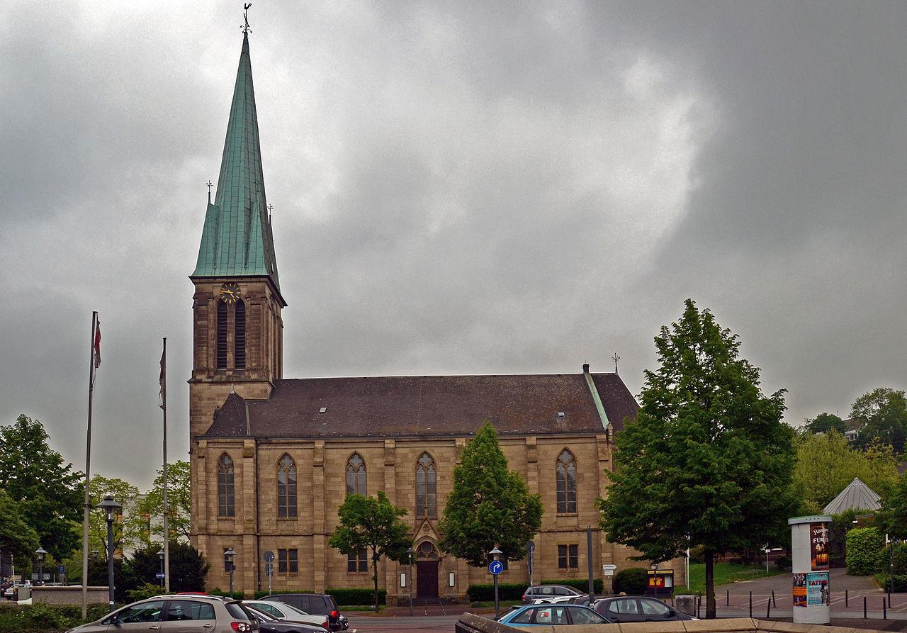Bild Friedenskirche Essen Steele