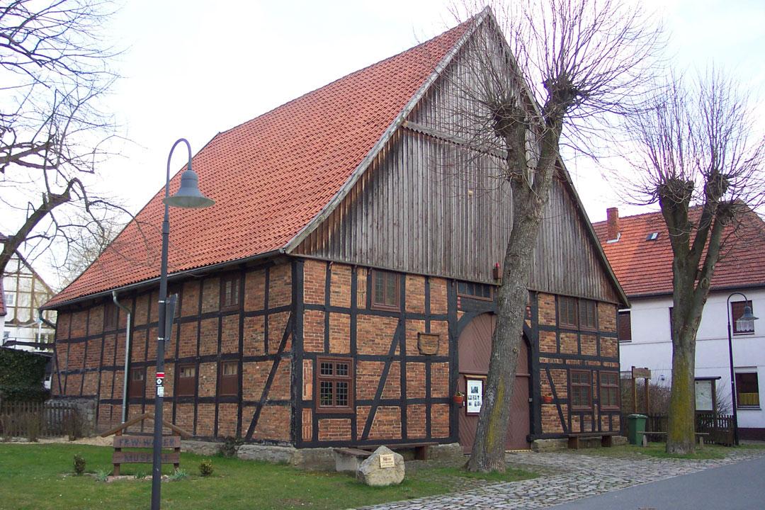 Bild Friedrich Wilhelm Weber Museum Bad Driburg Alhausen