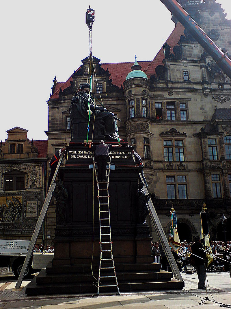Bild Denkmal Friedrich August I. Dresden