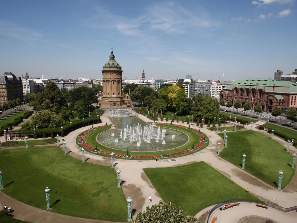 Bild Friedrichsplatz Mannheim