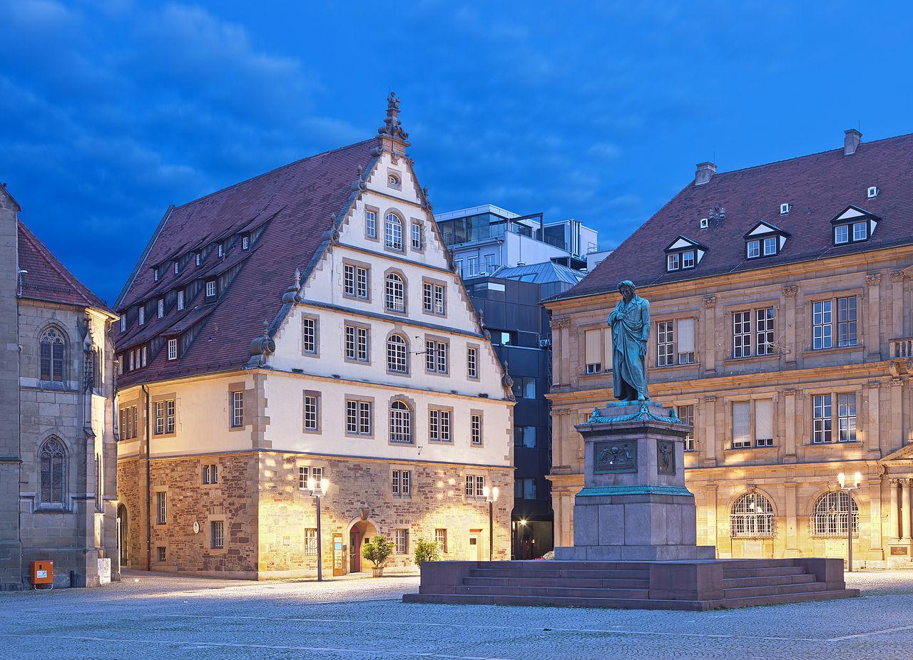 Bild Schillerdenkmal Stuttgart