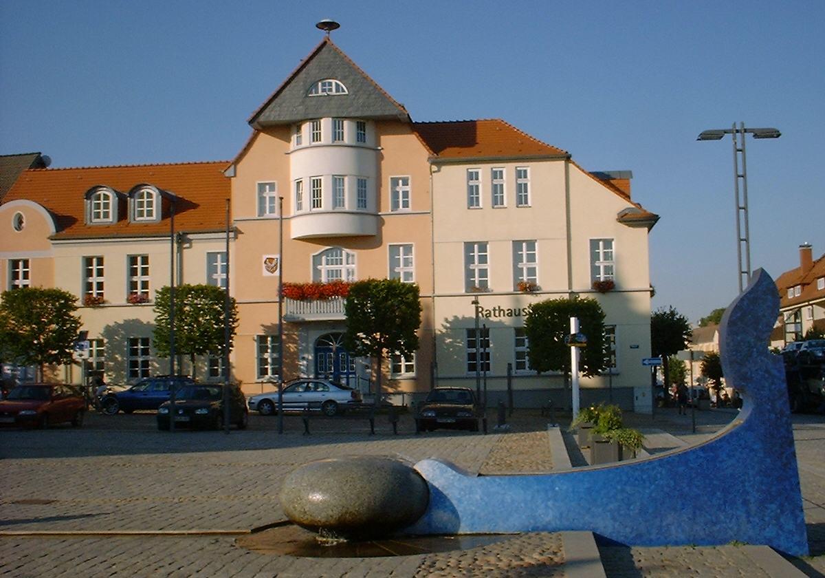 Bild Marktplatz Fürstenberg/Havel