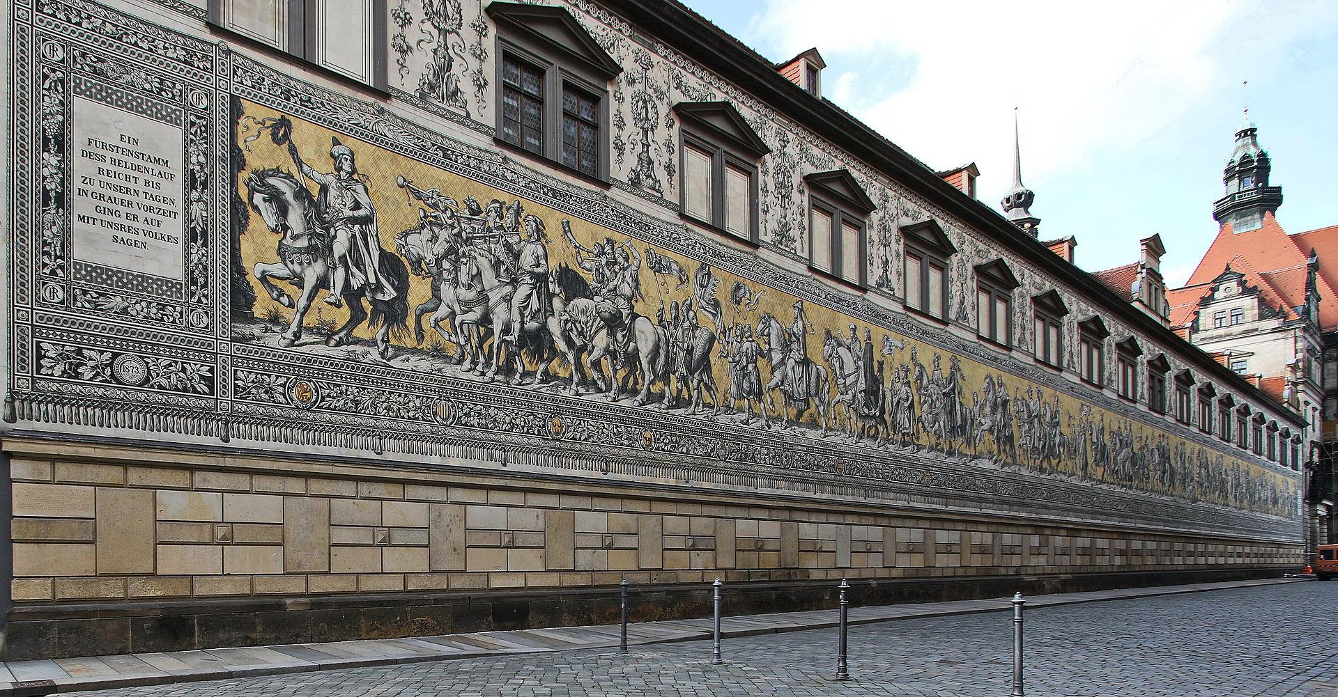 Bild Fürstenzug Dresden