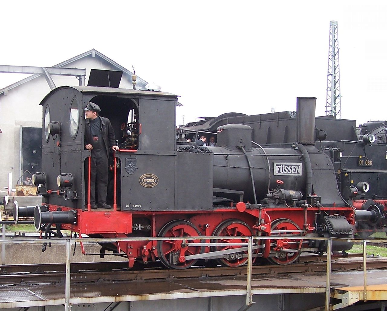Bild Bayerisches Eisenbahnmuseum Nördlingen