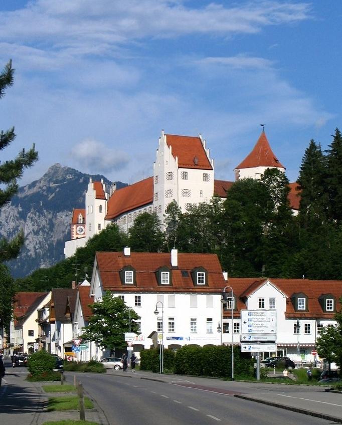 Bild Hohes Schloss Füssen