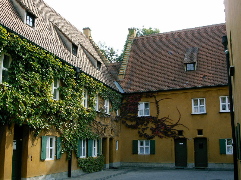 Bild Fuggerei Augsburg