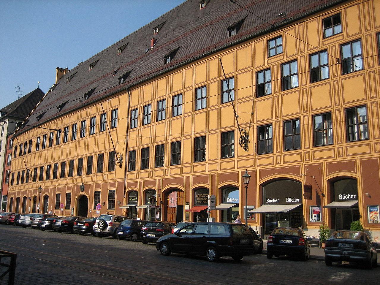 Bild Fuggerhäuser Augsburg