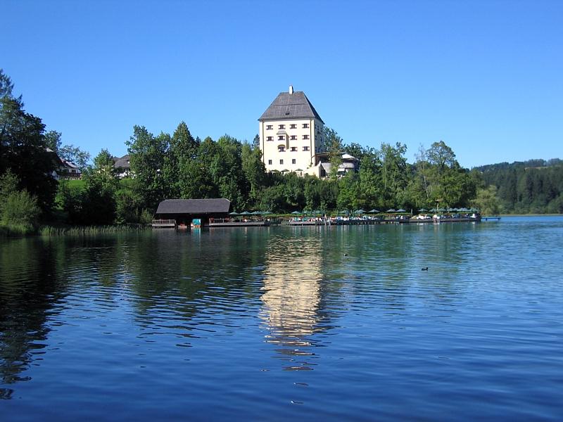 Bild Schloss Fuschl Salzburg