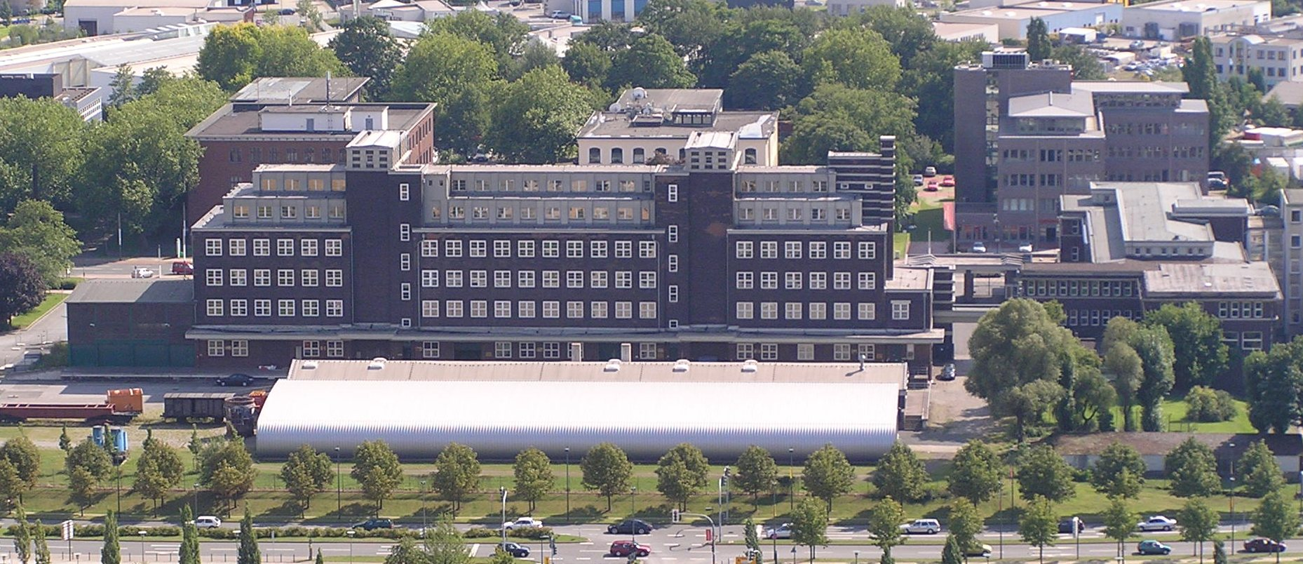Bild Peter Behrens Lagerhaus Oberhausen