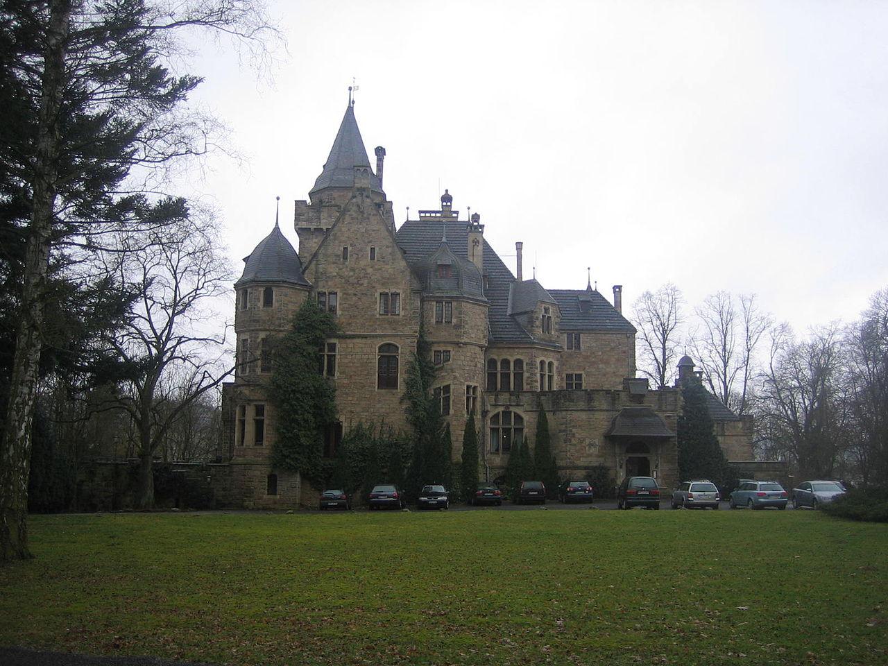 Bild Schloss Garvensburg Fritzlar Züschen
