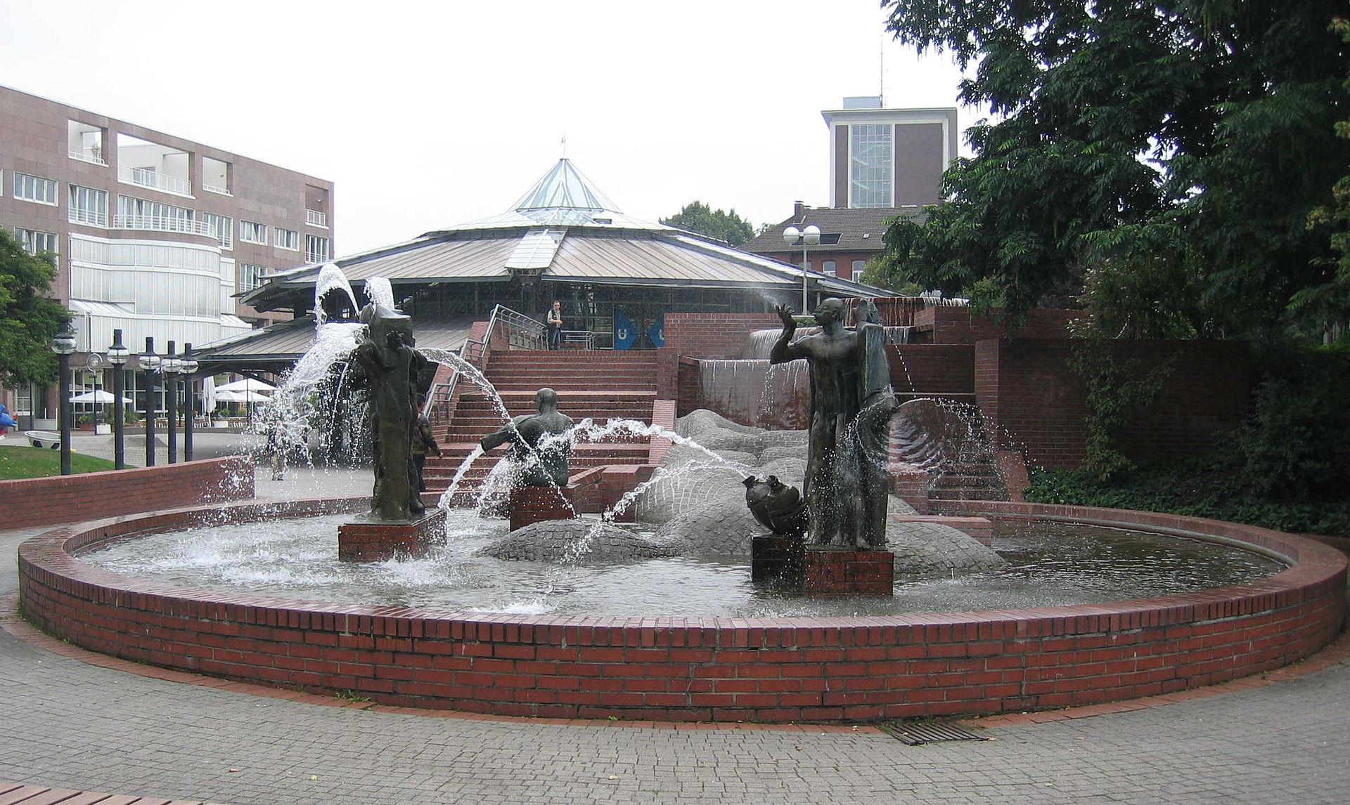 Bild Gauklerbrunnen Dortmund