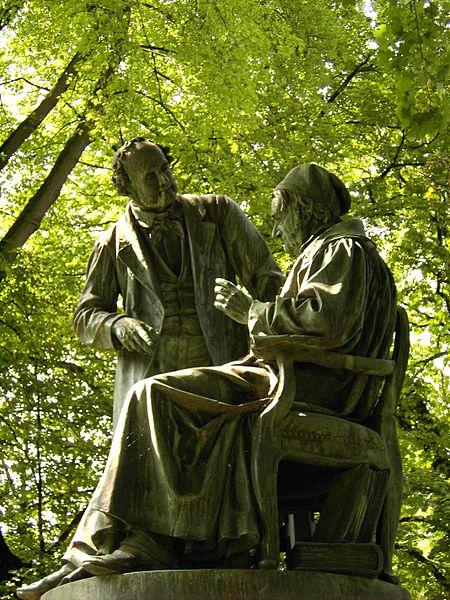 Bild Gauß Weber Denkmal Göttingen