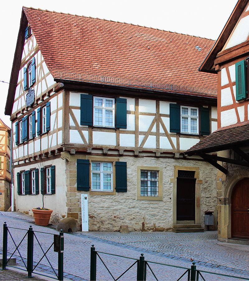 Bild Schillers Geburtshaus Marbach