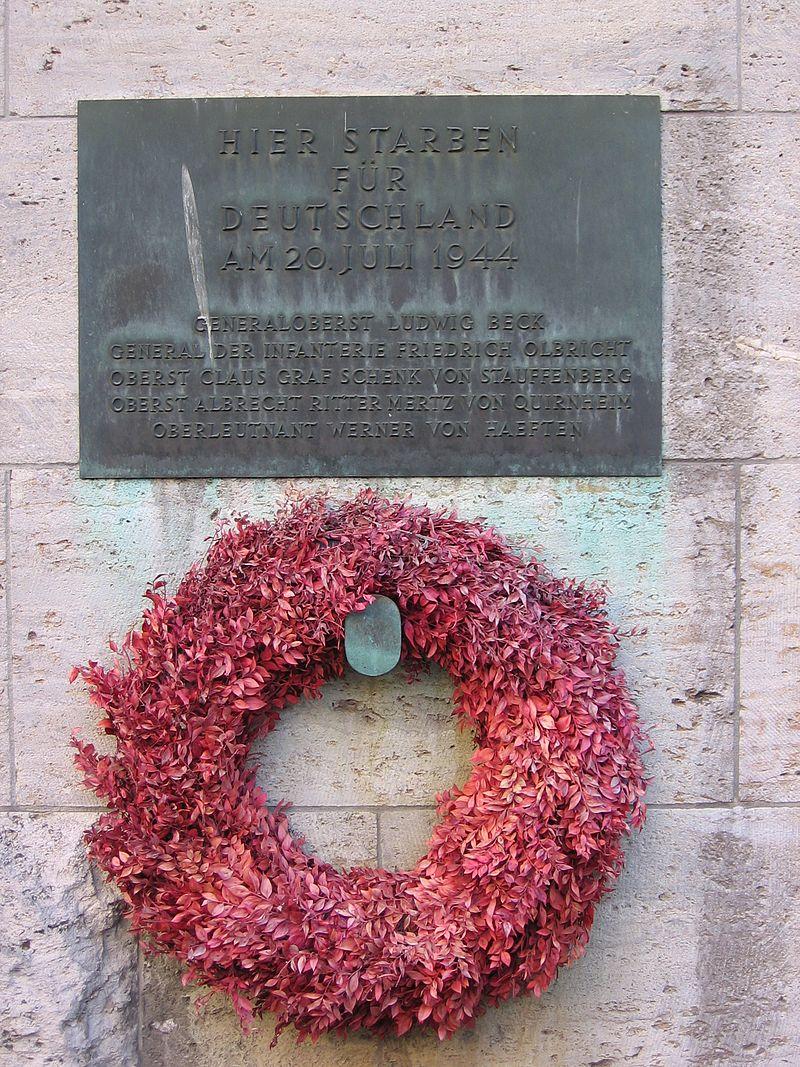 Bild Gedenkstätte Deutscher Widerstand Berlin