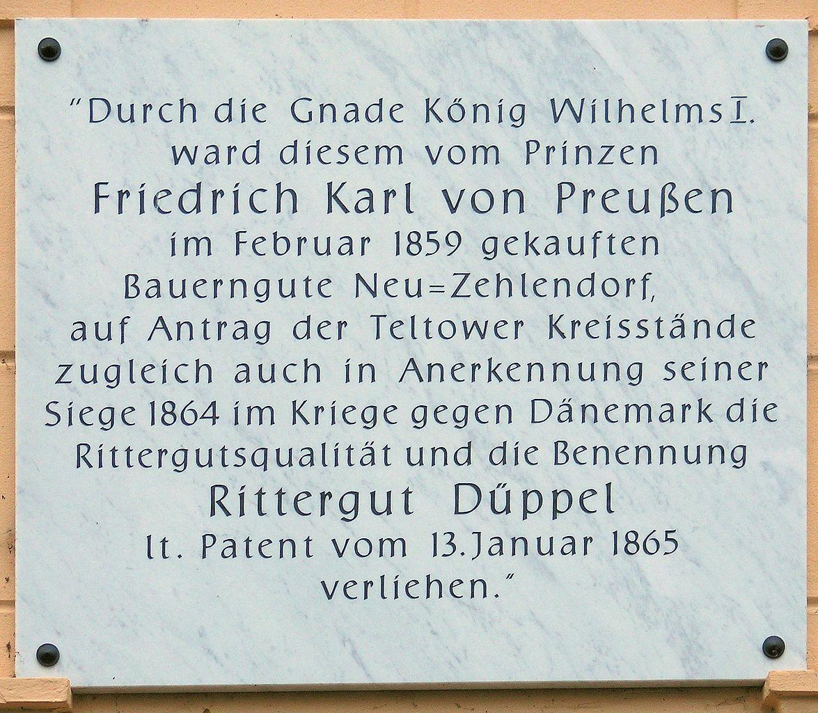 Bild Rittergut Berlin Düppel