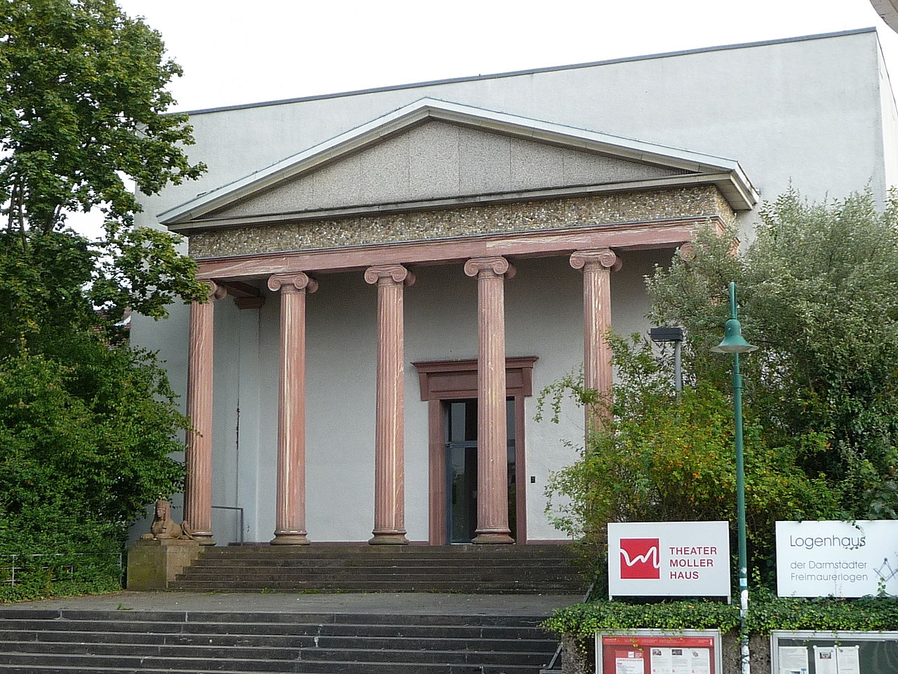 Bild Moller Haus Darmstadt