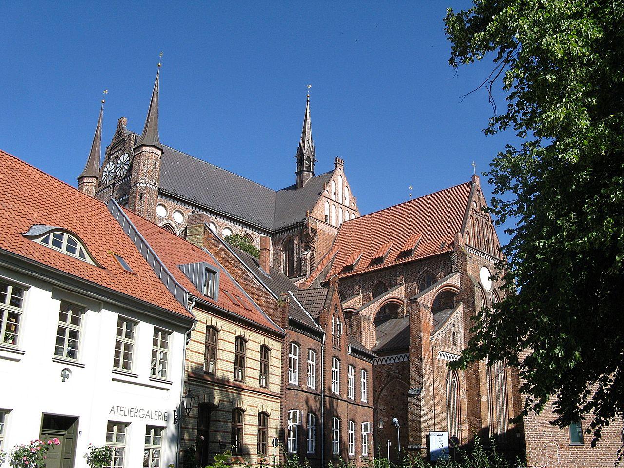 Bild St. Georgen Kirche Wismar