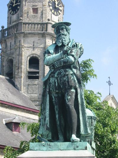 Bild Mercator Denkmal Rupelmonde