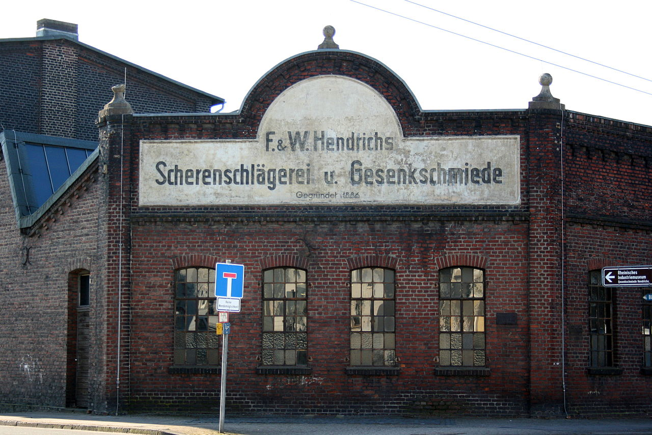 Bild LVR Industriemuseum Gesenkschmiede Hendrichs Solingen
