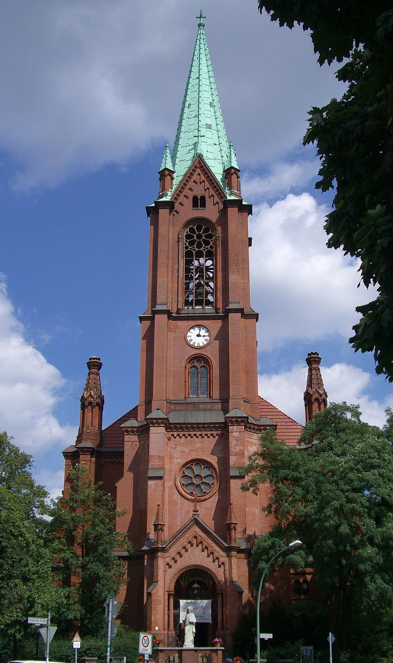 Bild Gethsemanekirche Berlin