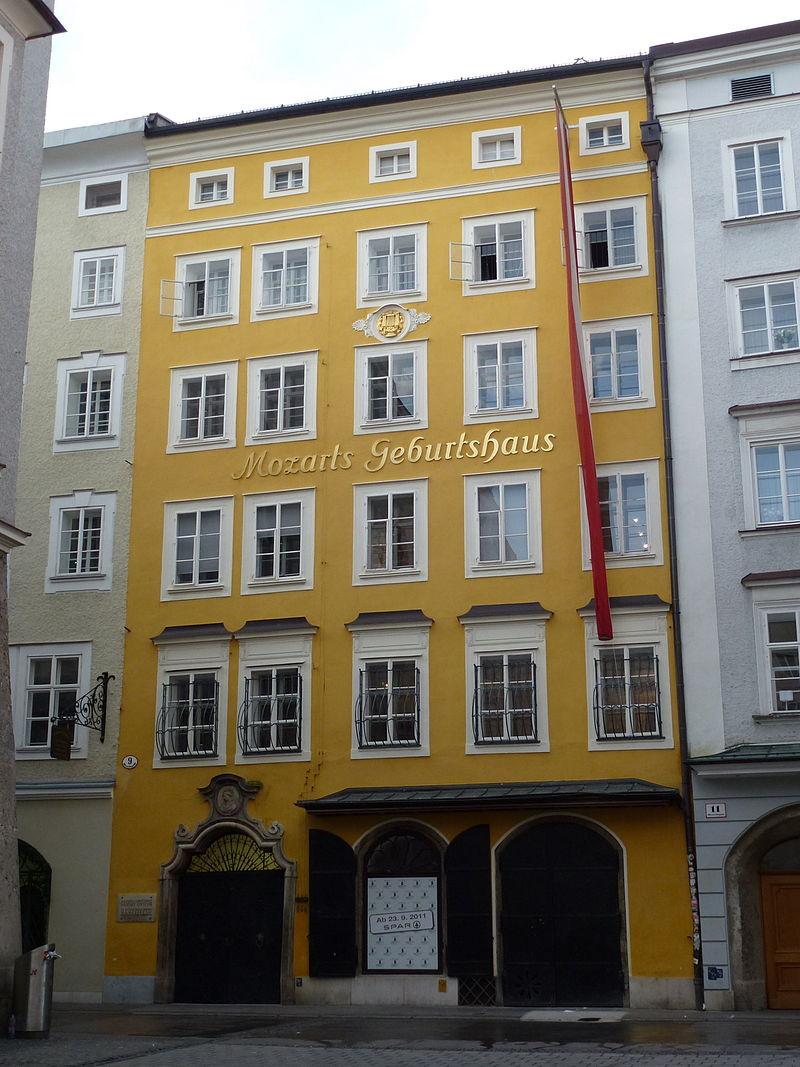 Bild Mozart Geburtshaus Salzburg
