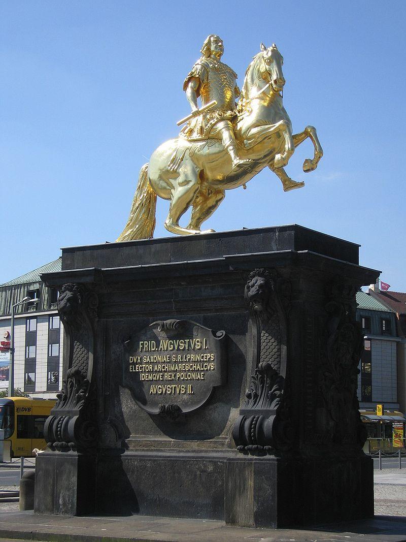Bild Goldener Reiter Dresden