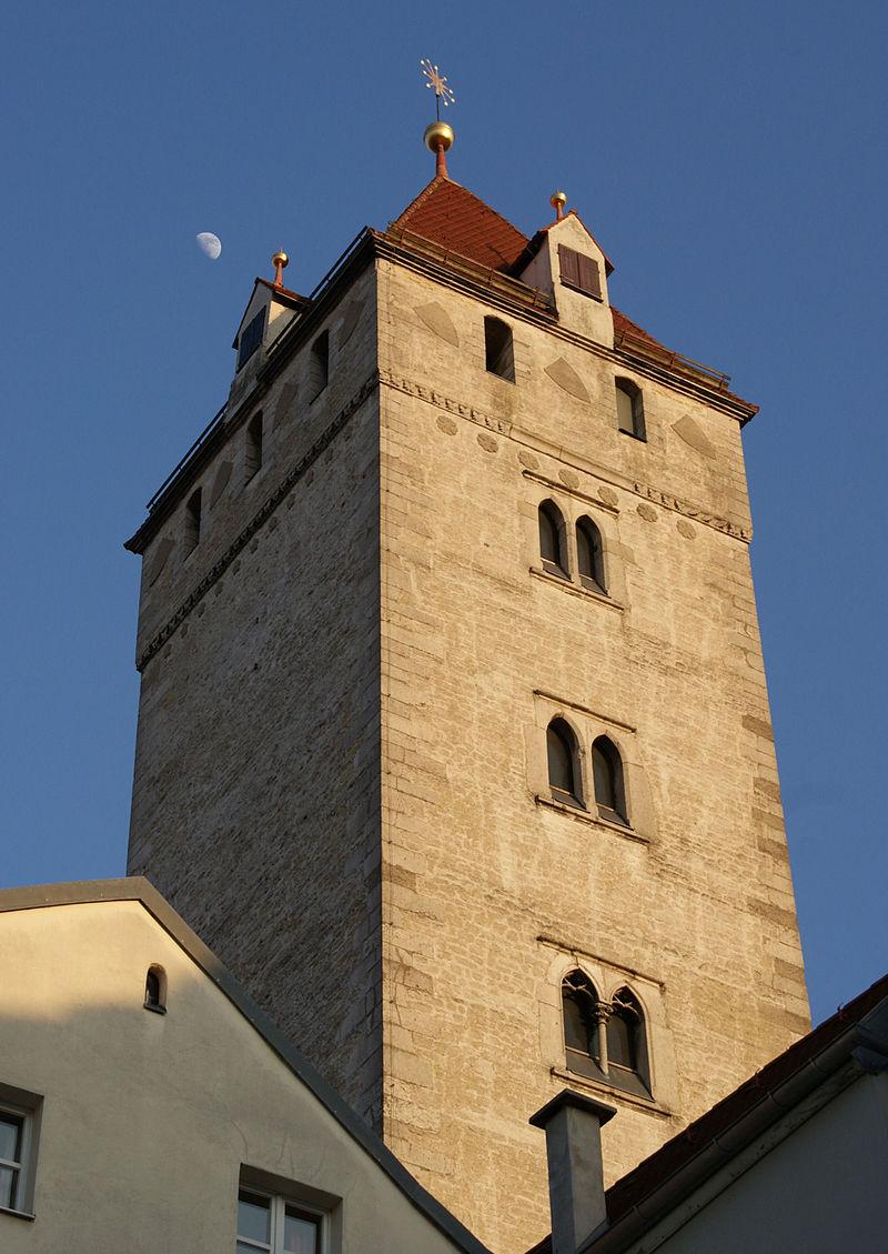 Bild Goldener Turm Regensburg