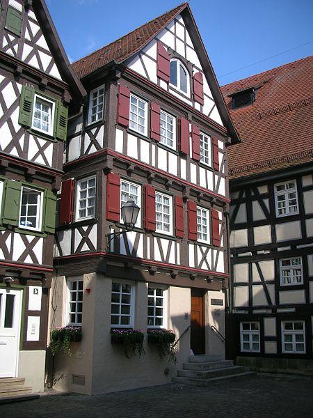 Bild Gottlieb Daimler Geburtshaus Schorndorf