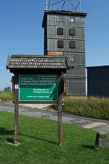 Bild Gedenkstein Großer Inselsberg Brotterode