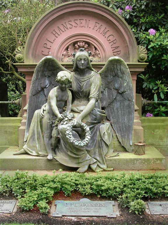 Bild Friedhof Hamburg Ohlsdorf