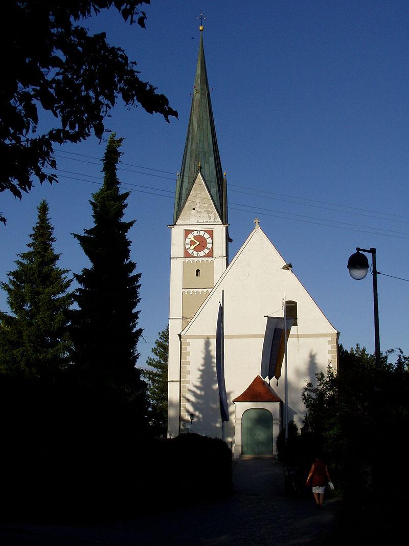 Bild Kirche St. Ulrich und Afra Graben