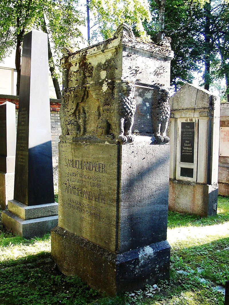 Bild Jüdischer Friedhof Augsburg