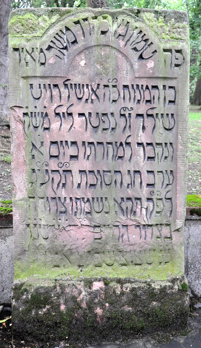 Bild Alter Jüdischer Friedhof in Frankfurt am Main
