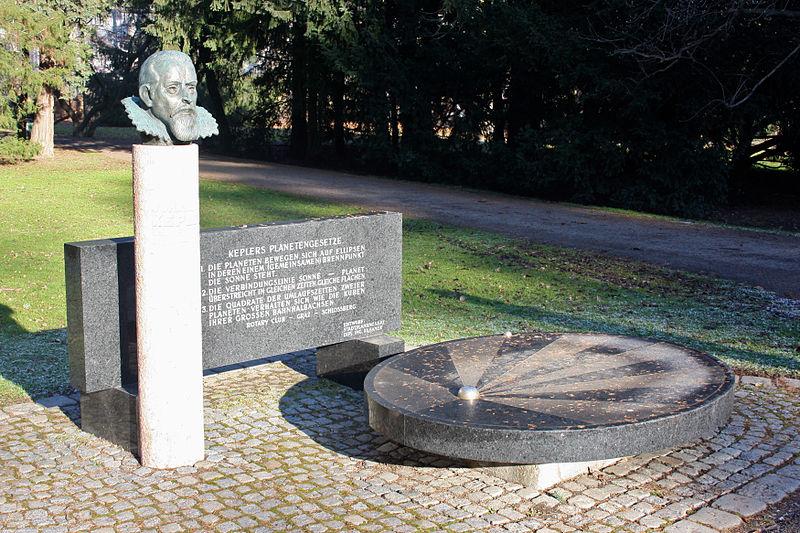 Bild Johannes Kepler Denkmal Graz