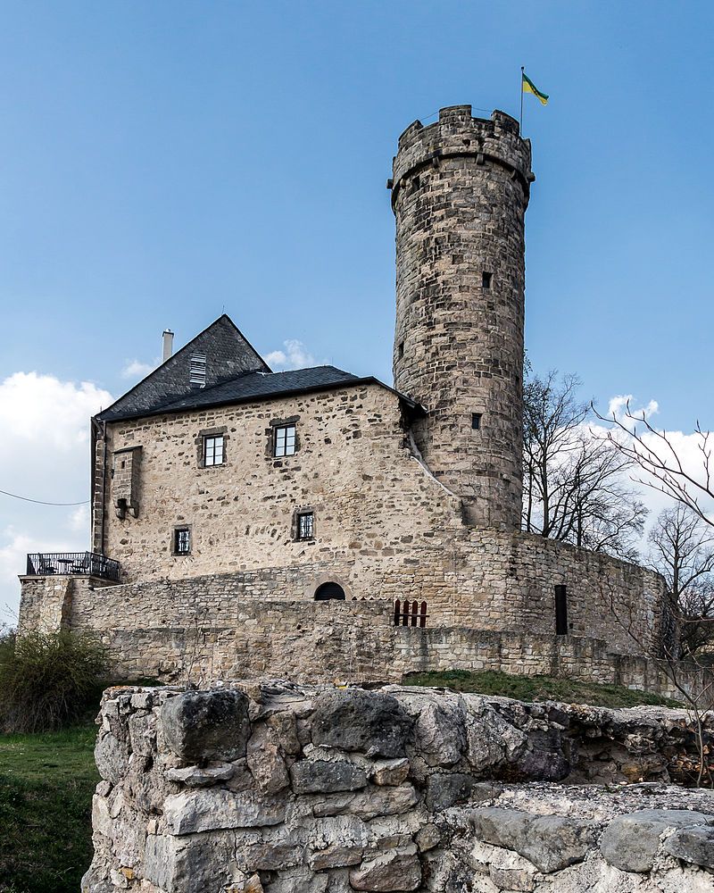 Burgen schl sser in th ringen for Burg greifenstein bad blankenburg
