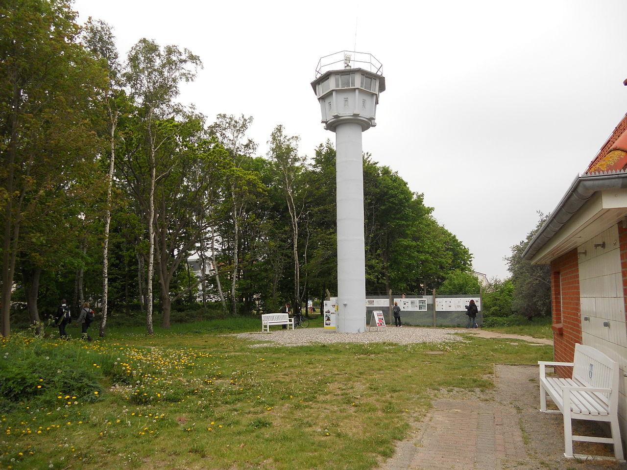 Bild Ostsee Grenzturm Kühlungsborn