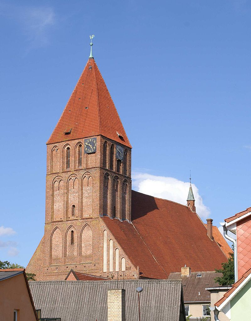Bild St. Marien-Kirche Grimmen