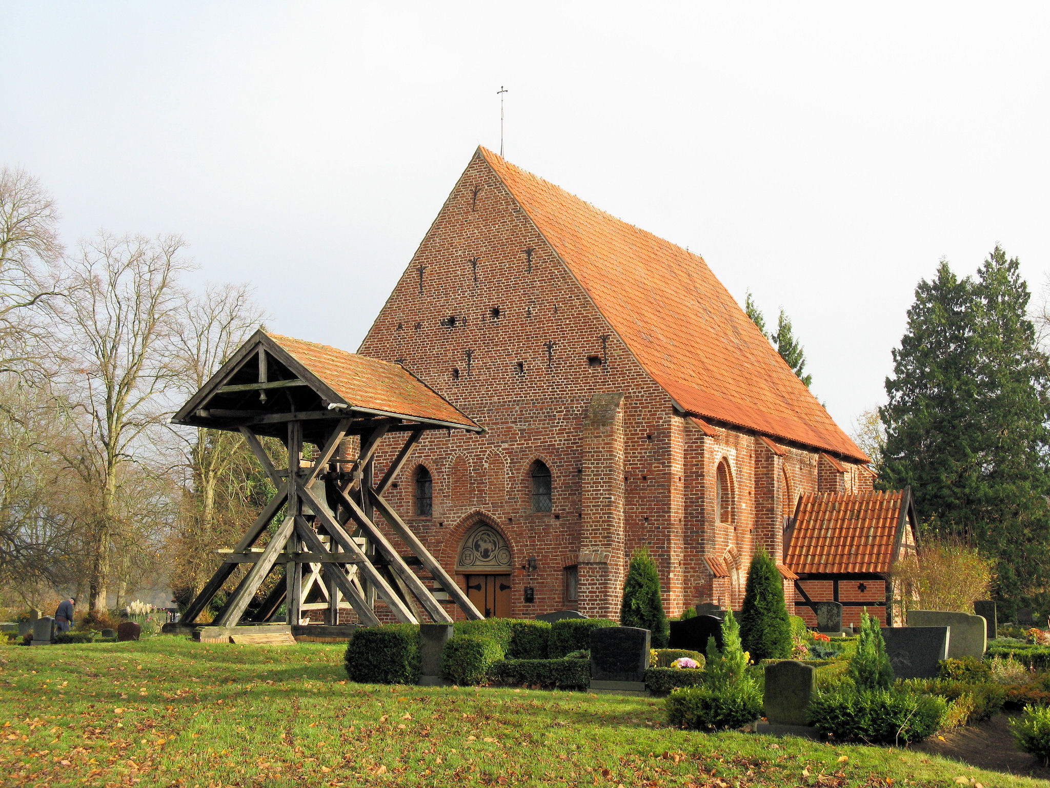 Bild Dorfkirche Groß Trebbow