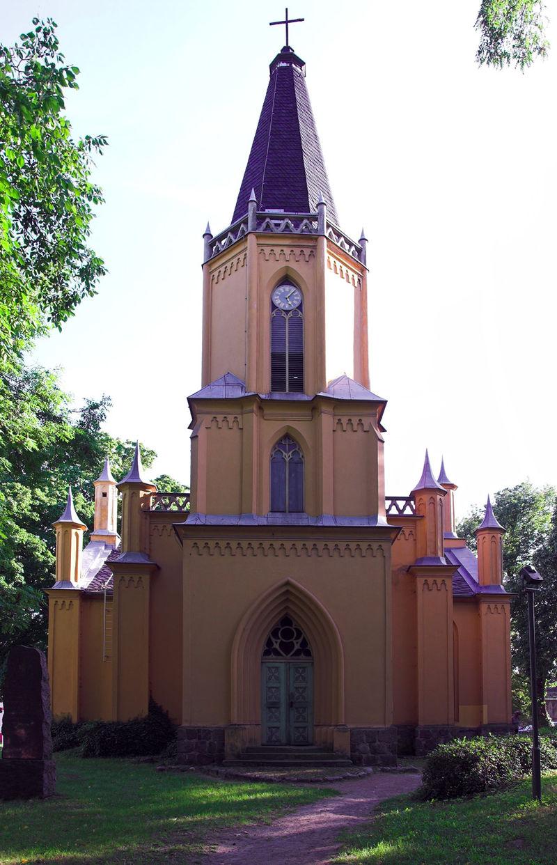 Bild Schinkelkirche Großbeeren