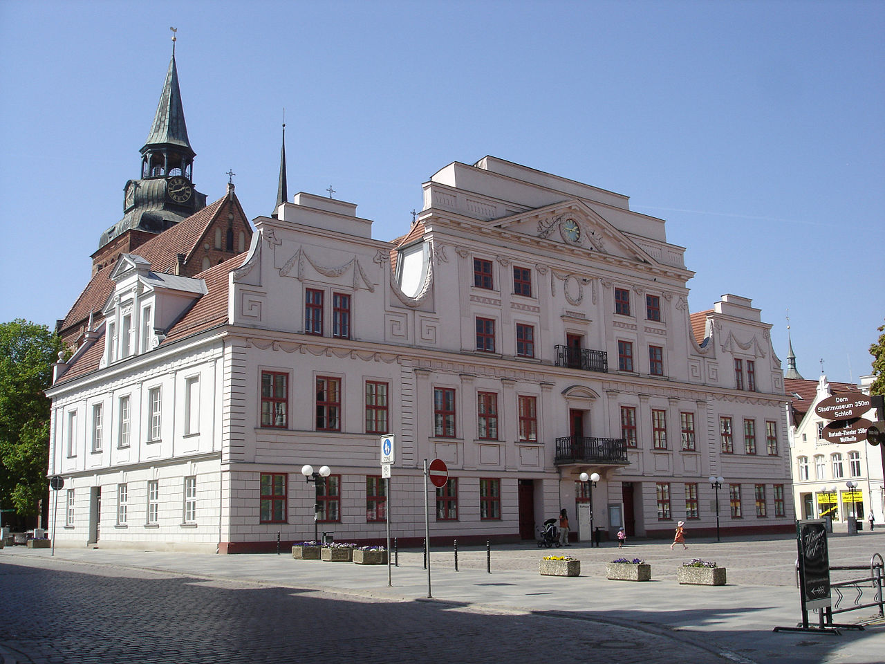 Bild Rathaus Güstrow