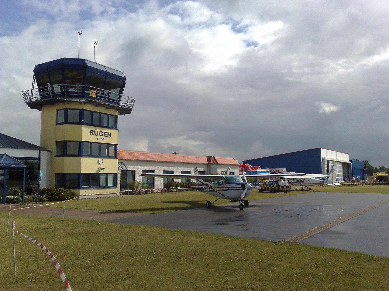 Bild Flugplatz Rügen Güttin