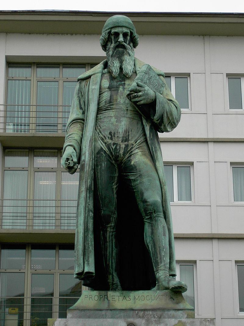 Bild Gutenberg Denkmal Mainz