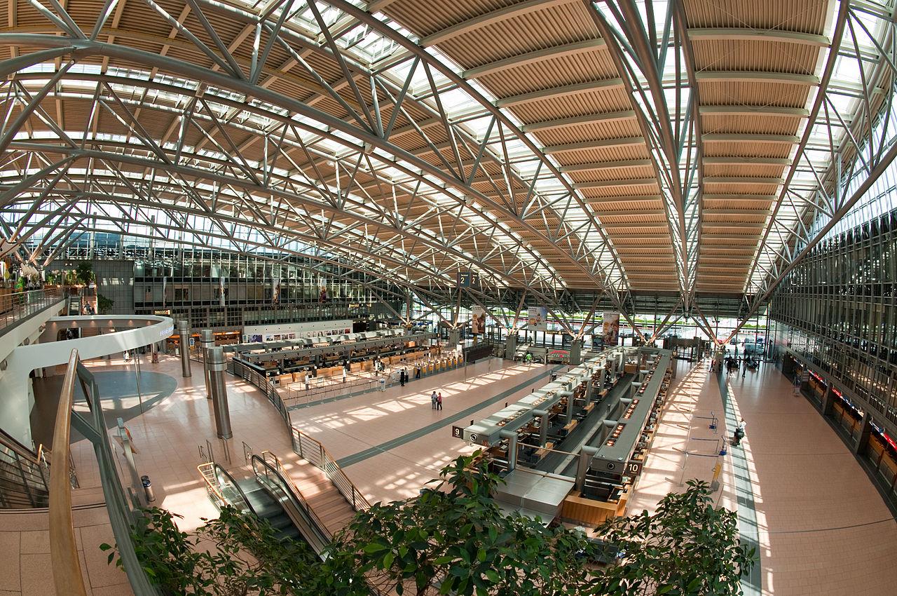 Bild Flughafen Modellschau Hamburg