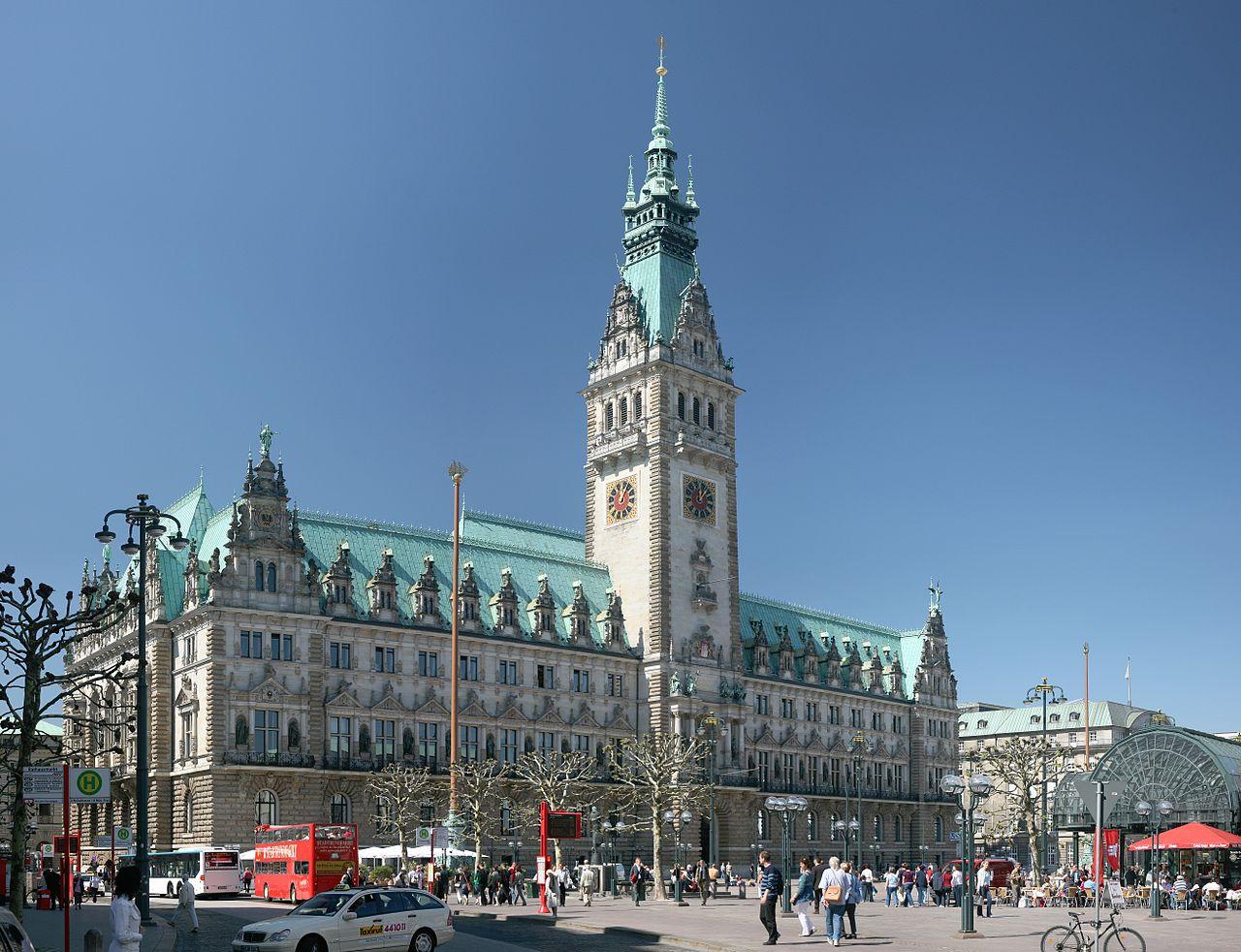 Bild Rathaus Hamburg