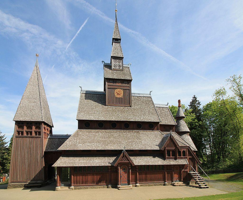 Bild Gustav Adolf Stabkirche Goslar Hahnenklee
