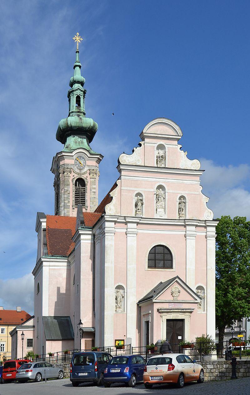 Bild Stadtpfarrkirche St. Philippus und Jakobus Hainburg